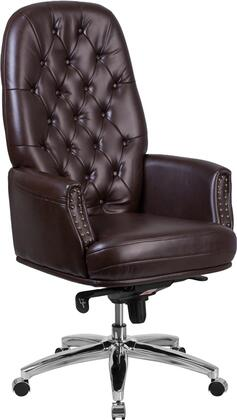 """Flash Furniture BT90269HBNGG 28"""" Adjustable Traditional Office Chair"""