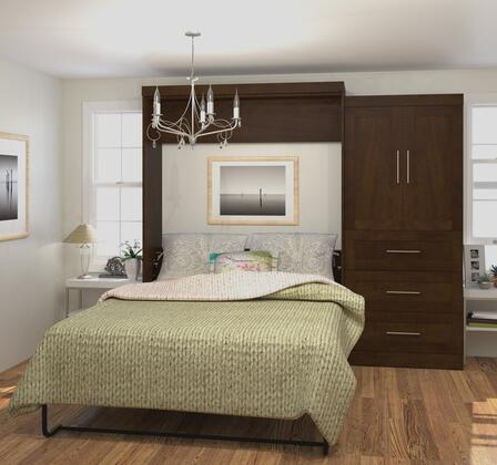 "Bestar Furniture 26887 Pur by Bestar 101"" Queen Wall bed kit"