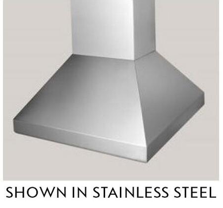 """BlueStar Hampton BSHAMPI36 36"""" Island Range Hood with 3 Speed Fan, Stainless Steel Baffle Filters, 300-600 CFM Internal Fan and Halogen Lamps, in"""