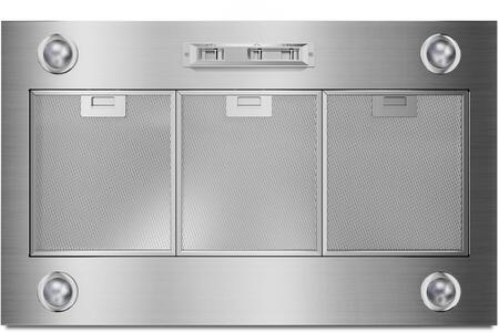 Picture of UXL6036YSS 36 Custom Hood Liner with 3 Fan Speed Settings  Dishwasher-Safe Premium Mesh Filters  Concealed Slide Controls and 4 Halogen Lights with Night