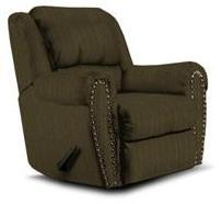 Lane Furniture 21414492530 Summerlin Series Transitional Fabric Wood Frame  Recliners