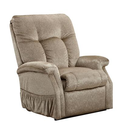 MedLift 5153STM Contemporary Fabric Wood Frame  Recliners