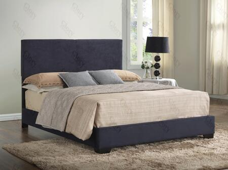 Glory Furniture G1801KBUP  King Size Panel Bed