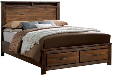 Furniture of America CM7072EKBED Elkton Series  King Size Bed