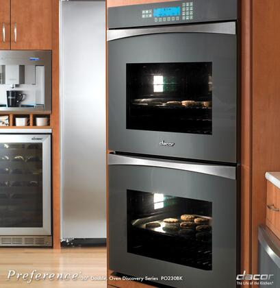 Dacor PO230SG  Double Wall Oven , in Grey