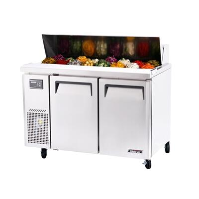 Turbo Air JST J Series Sandwich and Salad Unit with Cold Air Compartment, Convenient Cutting Board, Side Mount Compressor, Efficient Refrigeration System and Stainless Steel Cabinet Construction
