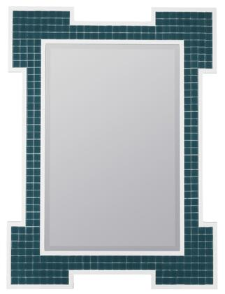 Cooper Classics 4065X Mirror with High Gloss White Frame