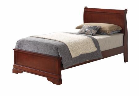 Glory Furniture G3100EFB3 G3100 Series  Full Size Sleigh Bed