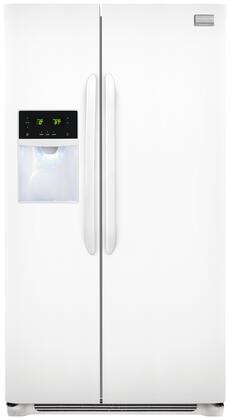 "Frigidaire FGHS2631PP 36""  Side by Side Refrigerator with 25.6 cu. ft. Capacity"