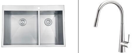 Ruvati RVC2402 Kitchen Sink