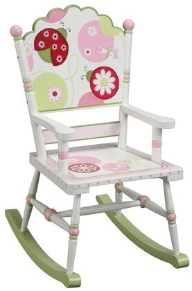 Guidecraft G86108 Sweetie Pie Series Armless  Wood Frame Not Upholstered Rocking Chair