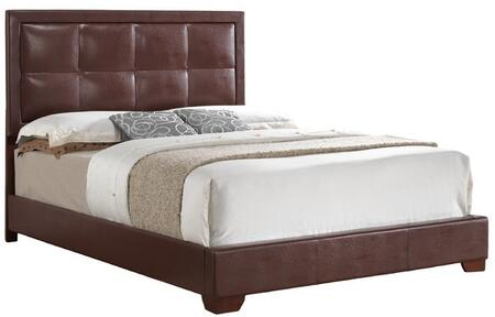 Glory Furniture G2596KBUP G2500 Series  King Size Panel Bed