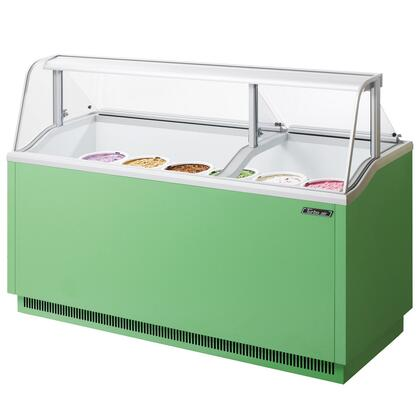"Turbo Air TIDC70G 70"" Commercial Ice Cream Freezer"