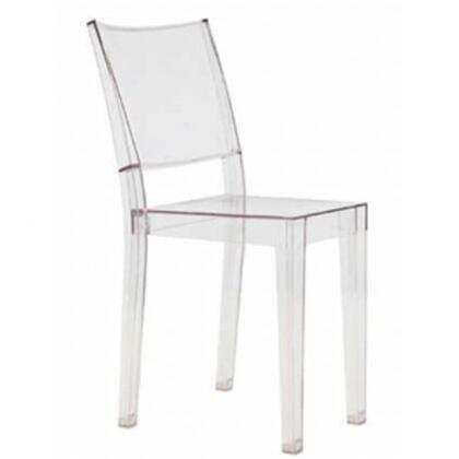 Fine Mod Imports FMI6004CLEAR Armless Not Upholstered Acrylic Frame Accent Chair