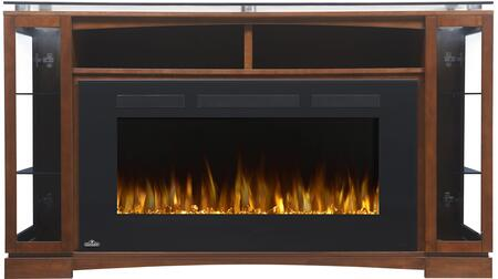 "Napoleon NEFP42 Mantel Package Complete with the Allure 42"" Electric Fireplace"