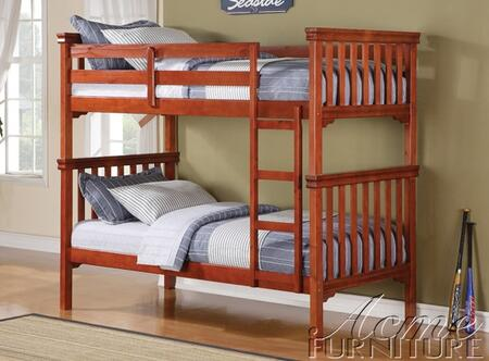 Acme Furniture 37035 Louis Philippe Series  Twin Over Twin Size Bunk Bed