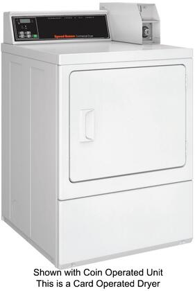 "Speed Queen SDEY07WF 27"" 7 cu. ft. Electric Dryer, in White"