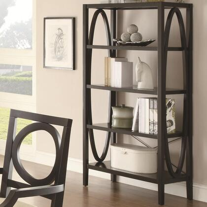 Coaster 800465  Wood 4 Shelves Bookcase