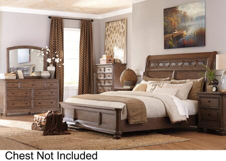 Signature Design by Ashley B709KSBDMN Maeleen King Bedroom S