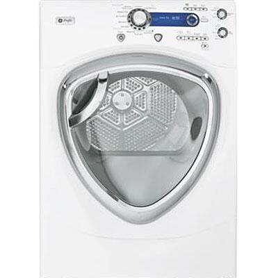 GE PFDS450ELWW Electric Profile Series Electric Dryer