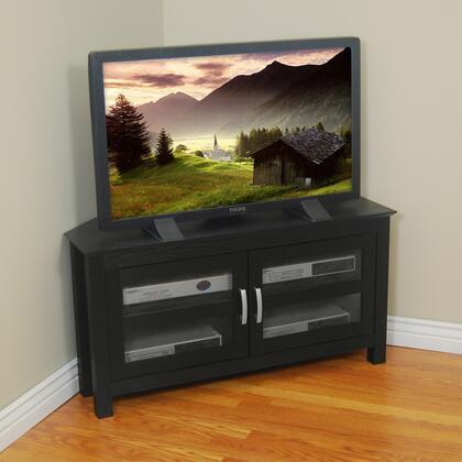 Walker Edison W44CCR 44 Inch Castillo Corner Wood TV Stand