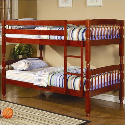 Coaster 460221 Coral Series  Twin Size Bunk Bed