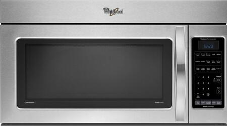 Whirlpool WMH76718AS 1.8 cu. ft. Capacity Over the Range Microwave Oven
