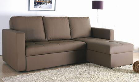 Yuan Tai BY7900BR Byron Series Sectional Sleeper Sofa