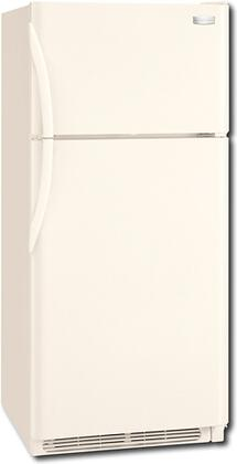 Frigidaire FRT18IS6JQ  Refrigerator with 18.2 cu. ft. Capacity in Bisque