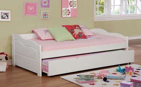 Furniture of America CM1737WHBED Sunset Series  Twin Size Daybed Bed
