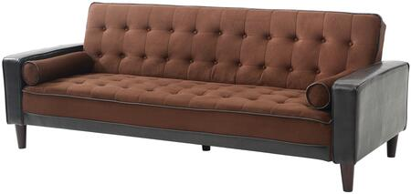 Glory Furniture G846S  Convertible Suede Sofa