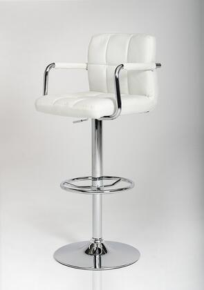 VIG Furniture VGCBT1177WHT Modrest Series Residential Bar Stool