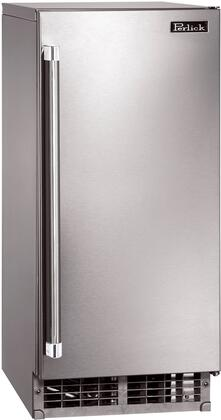 "Perlick H50IMSR Freestanding 55 lb. 14.875""27 lbs. Ice Maker 