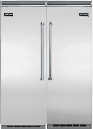 Viking 734254 Side-By-Side Refrigerators