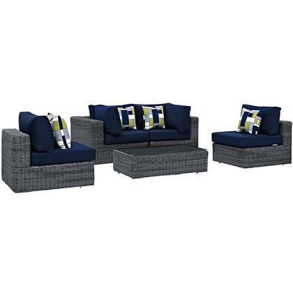 Modway EEI2391GRYNAVSET  Patio Sets