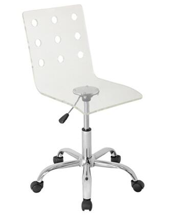 "LumiSource OFCTWSWISSCL 22"" Adjustable Contemporary Office Chair"