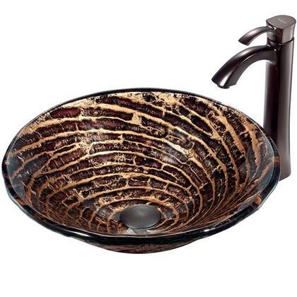 Vigo VGT196 Oil Rubbed Bronze Bath Sink