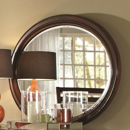Coaster 203034 Ortiz Series Round Both Dresser Mirror