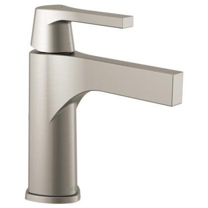Zura  574-SSLPU-DST Delta Zura: Single Handle Lavatory Faucet - Less Pop Up in Stainless