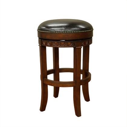American Heritage 130943SD Portofino Series Residential Leather Upholstered Bar Stool