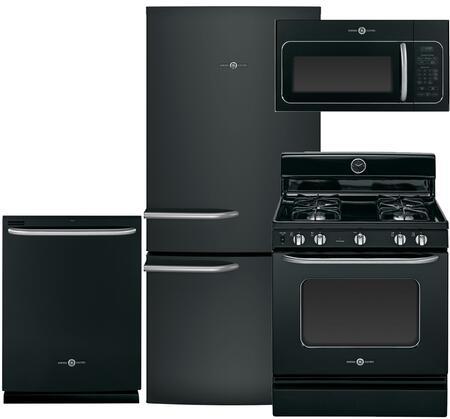 GE GE4PCFSBF30GFIBKKIT2 Artistry Kitchen Appliance Packages