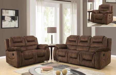 Global Furniture U97370D097RSRLSGR U97370 Living Room Sets