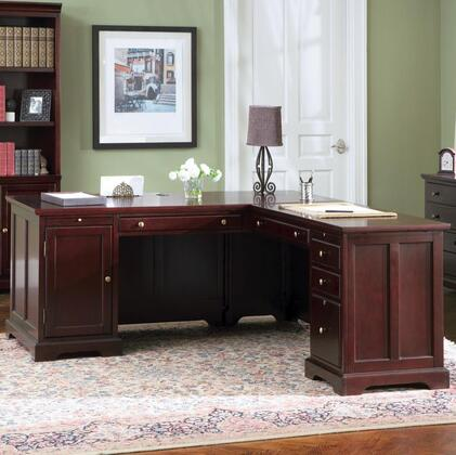Coaster 800572LSET Lawrenceville Series  Wood Desk