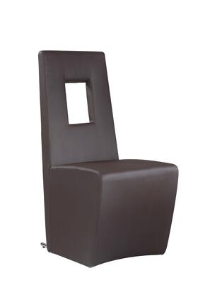 Chintaly CHASITYSC CHASITY DINING Fully Upholstered Side Chair