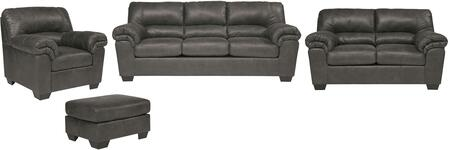 Milo Italia MI3020SLCOSLAT Hayden Living Room Sets