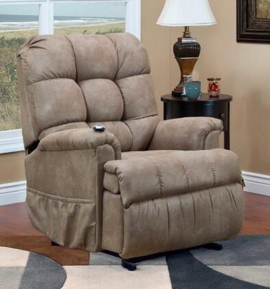 MedLift 5555PSTM Contemporary Fabric Wood Frame  Recliners