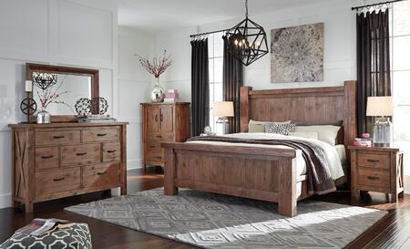 Signature Design by Ashley B714KPSBDMNC Tamilo King Bedroom
