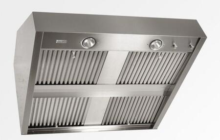 "Trade-Wind DC36X 36"" Stainless Steel Duct Cover - "" High"