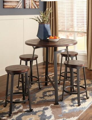 Milo Italia DR140CT4BS24 Kym Dining Room Sets