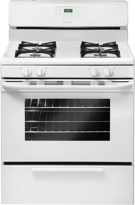 "Frigidaire FFES3015LW 30"" Slide-in Electric Range with Coil Cooktop Storage 4.2 cu. ft. Primary Oven Capacity"